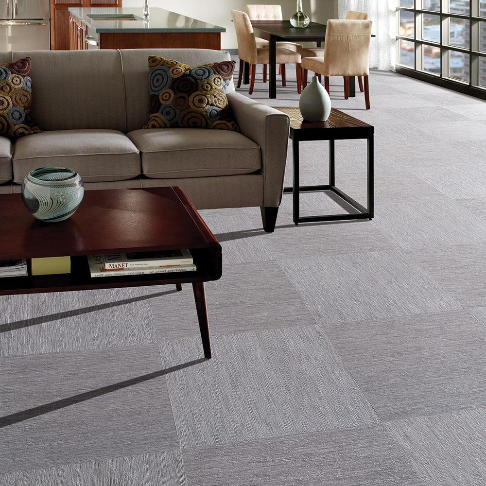 Vinyl Mannington Adura Luxury Tile Vibe Steel