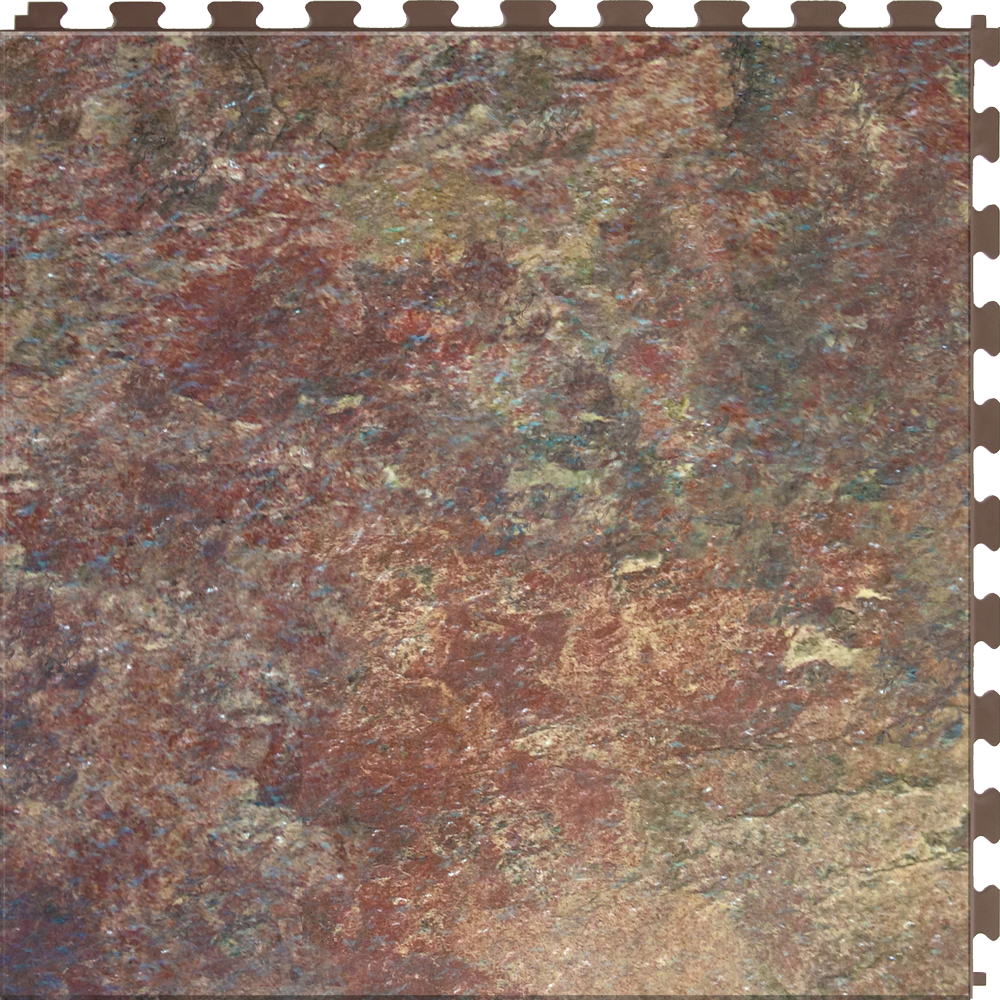 Vinyl perfection floor tile home style granite and stone sedona slate dailygadgetfo Images