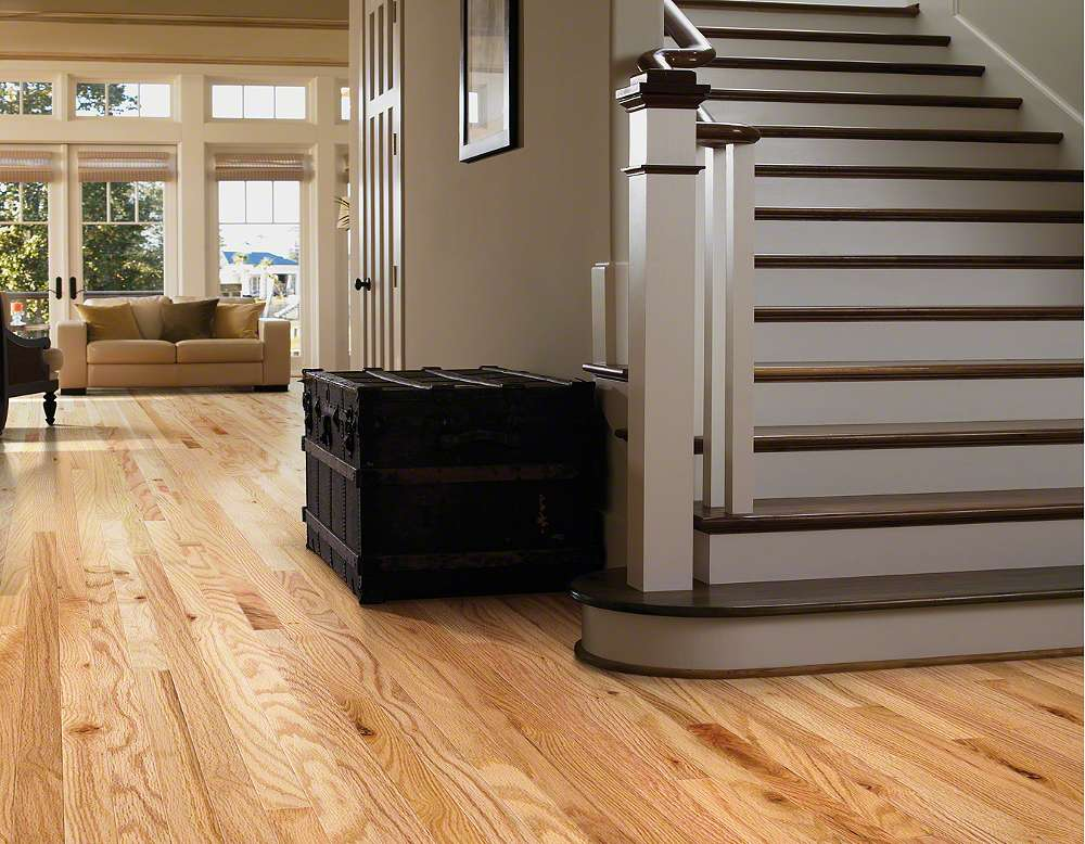 Hardwood Shaw Golden Opportunity Rustic Natural 3 25
