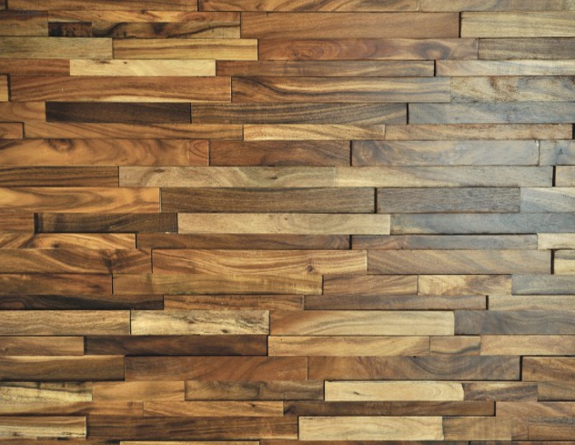 Hardwood Johnson Rowlock Plus Wall Panels Acacia Aspen