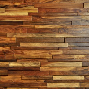 Hardwood Johnson Rowlock Wall Panels Acacia Aspen